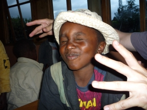 A Kenyan orphan